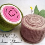 Wool Pincushions Tutorial / patchworkposse.com #pincushion #tutorial #wool #upcycle