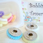 bobbin tamers- use pony tail holders | patchwork posse
