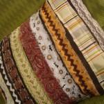 strip pillow front