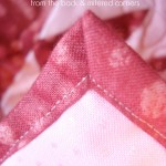 How to bind your quilting using your backing fabric   quick and easy   patchwork posse