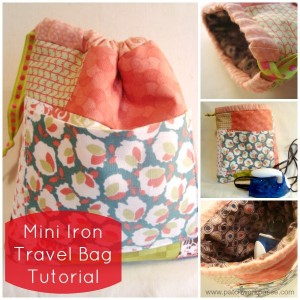 mini iron case tutorial / patchwork posse