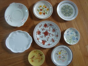 cake stand plates