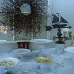 Cake Stand with candlestick and plate tutorial