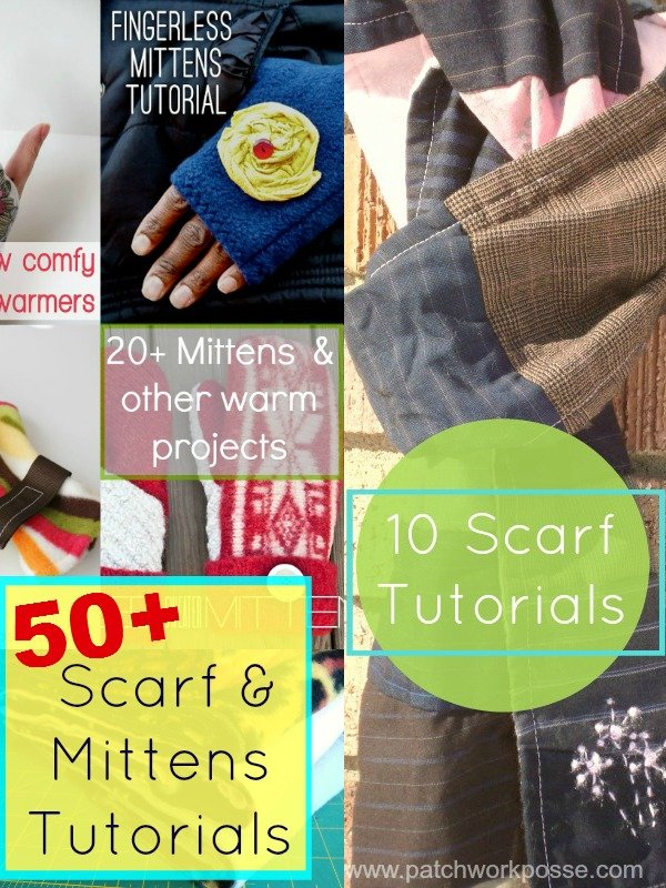 Warm Mittens and Scarfs Tutorials