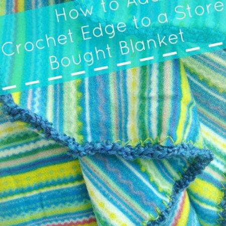 crochet edge blanket tutorial | patchwork posse #crochet