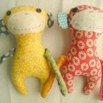 2 New Patterns Monkey-Otso and Bunny-Otso