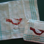 hot pad and matching towel tutorial