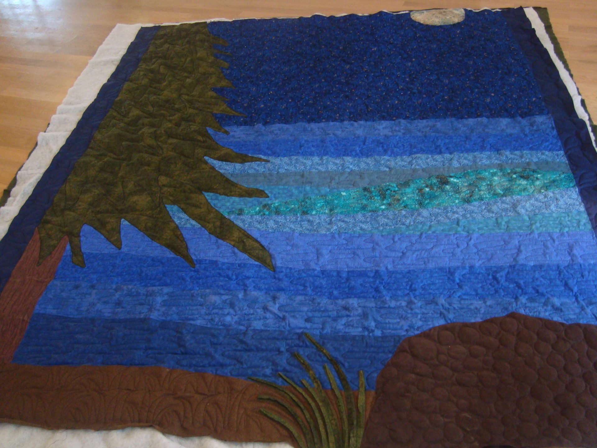 The First Quilted Quilt of the Year