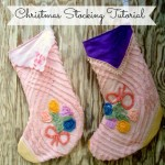Chenille Christmas Stocking Pattern