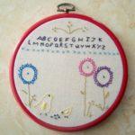 mini stitchery free pattern