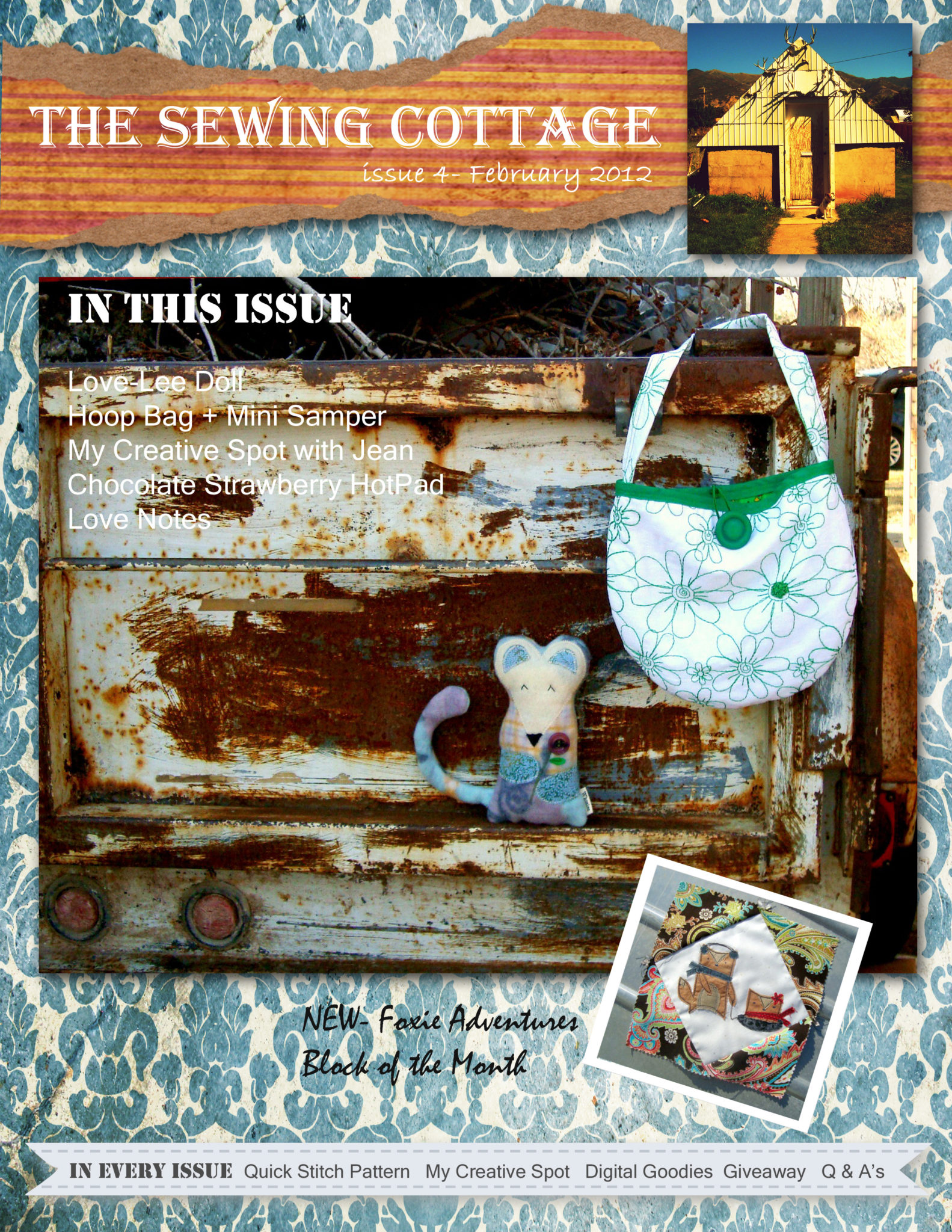 the sewing cottage issue 4 cover