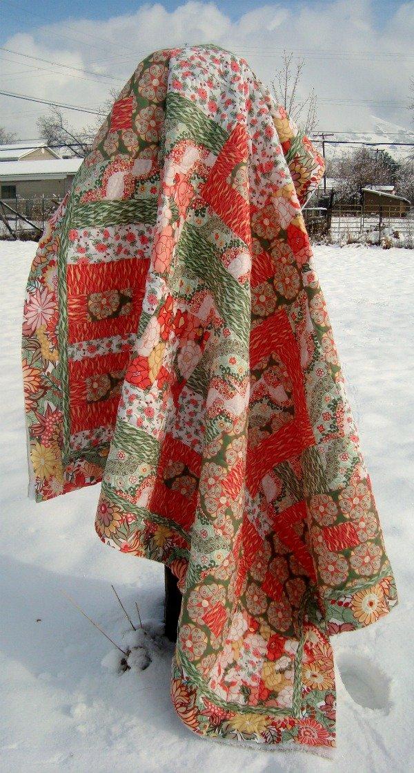 rococo gardens quilt