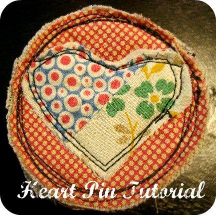 heart pin tutorial