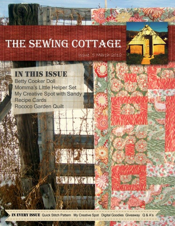 issue 5 the sewing cottage