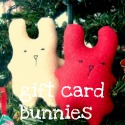 Gift Card Bunny Plushie Tutorial