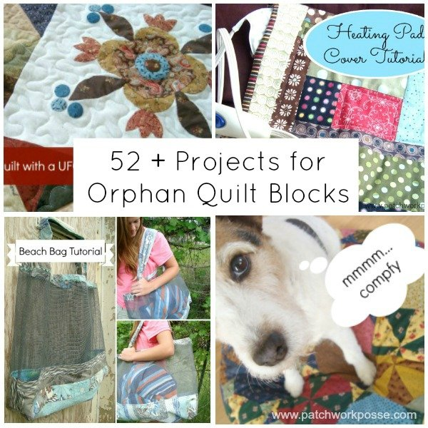 52 UFO Quilt Block Pick Up Tutorials, Ideas and Inspiration
