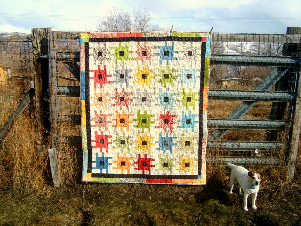 sprockets quilt / patchwork posse