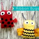 ribbon bugs pattern | patchwork posse #freepattern