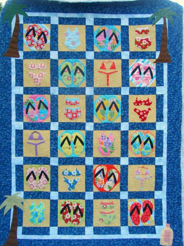 beach quilt