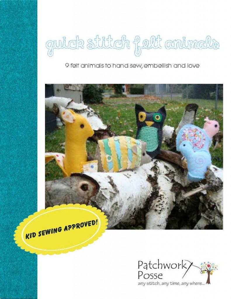 quick stitch book cover