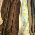 A Few New Fabrics & Vintage Tablecloths