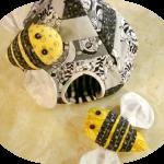 Bzzzzzzz…said some bees