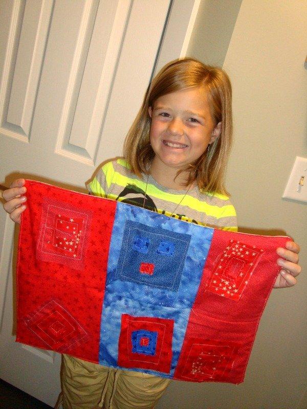 eliza first quilt
