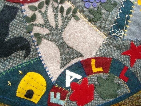 wool penny rug free pattern