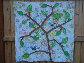 Quilt Along- In the Leafy Treetops