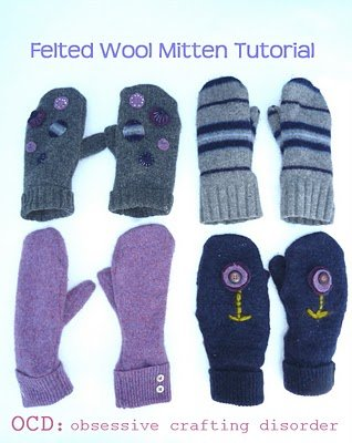 11 Winter Mittens Tutorials