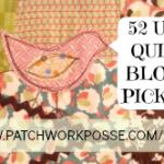 ufo quilt block