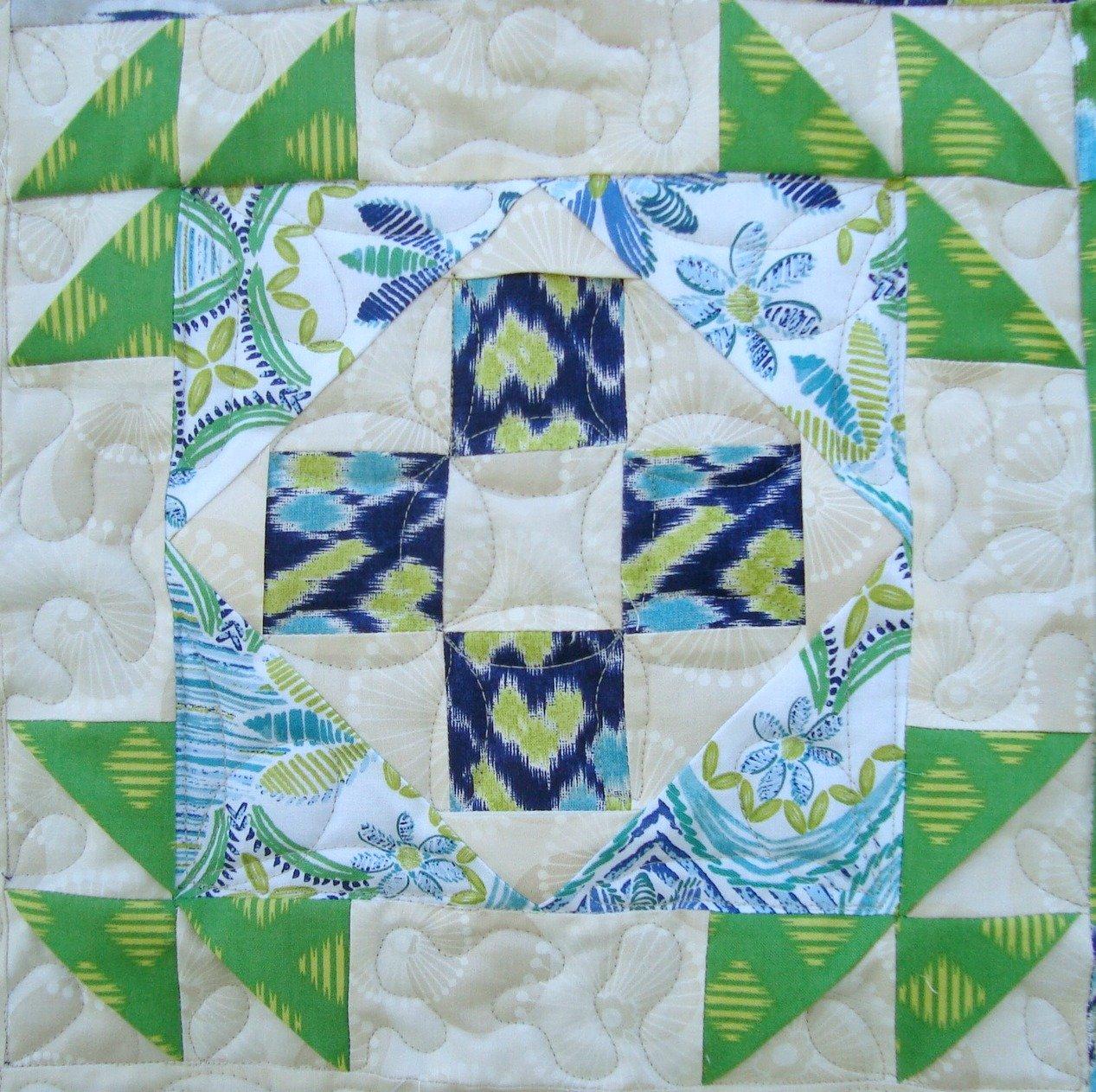 quilt block 3d