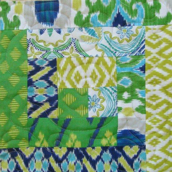 quilt along log cabin quilt block