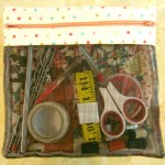 zipper bag tutorial using quilt blocks / patchwork posse