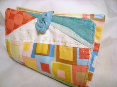sewing needle case tutorial / patchwork posse