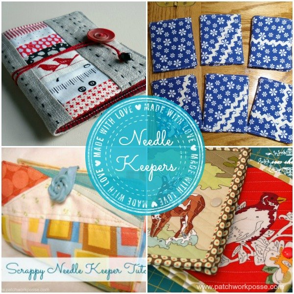 needle keeper tutorials | use your orphan quilt blocks | patchwork posse #quilting #embroidery