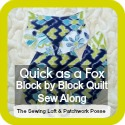 block of the month quick as a fox