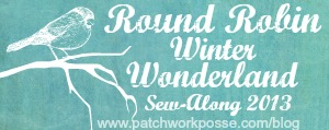 round robin winter wonderland patchwork posse