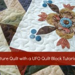 Use ufo quilt blocks to make a signature quilt. #wedding gift #quilt #tutorial http://www.patchworkposse.com/blog/2013/01/signature-quilt-tutorial-52-ufo-quilt-block/