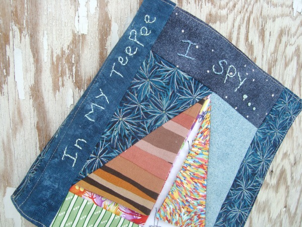 quiet book patchwork posse