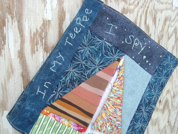 quiet book patchwork posse