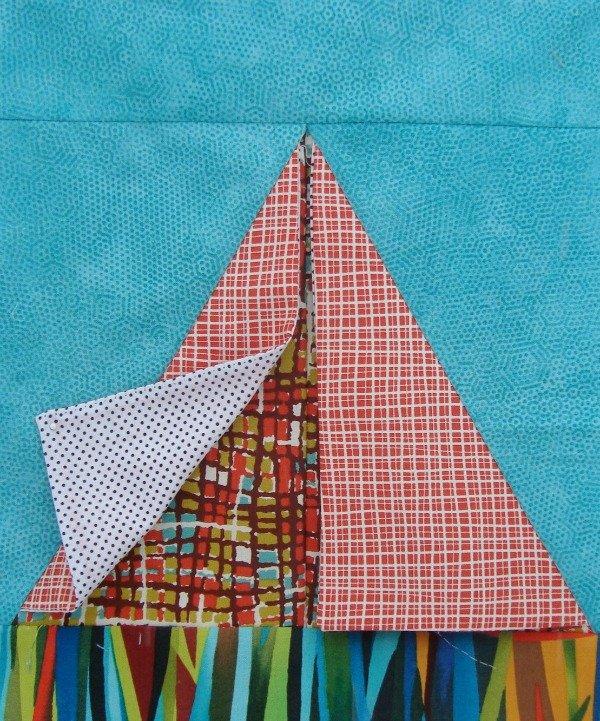 teepeequilt block patchwork posse