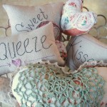 valentine heart pillows tutorial / patchwork posse
