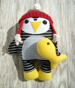 new pattern penguin and fish