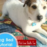 Dog Pillow Tutorial {52 UFO Quilt Block Pick Up}