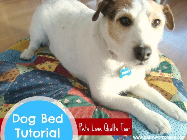 dog pillow tutorial | patchwork posse #quilt #patchwork