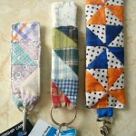 key fob or keychain tutorial / patchwork posse