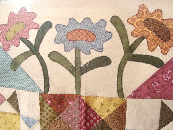midnight blooms quilt