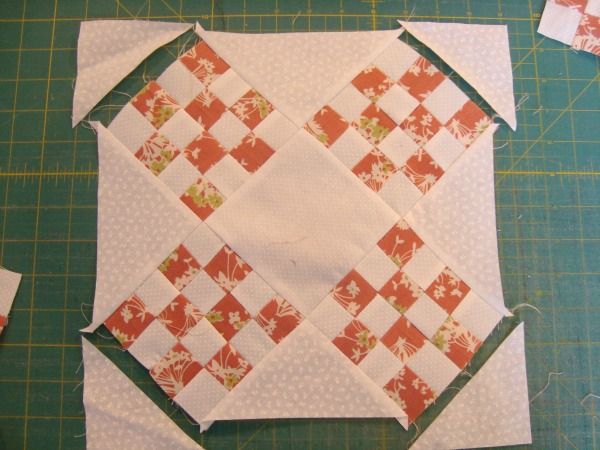 table topper quilt strawberry