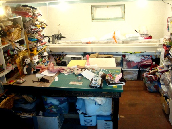 sewing studio of patchwork posse